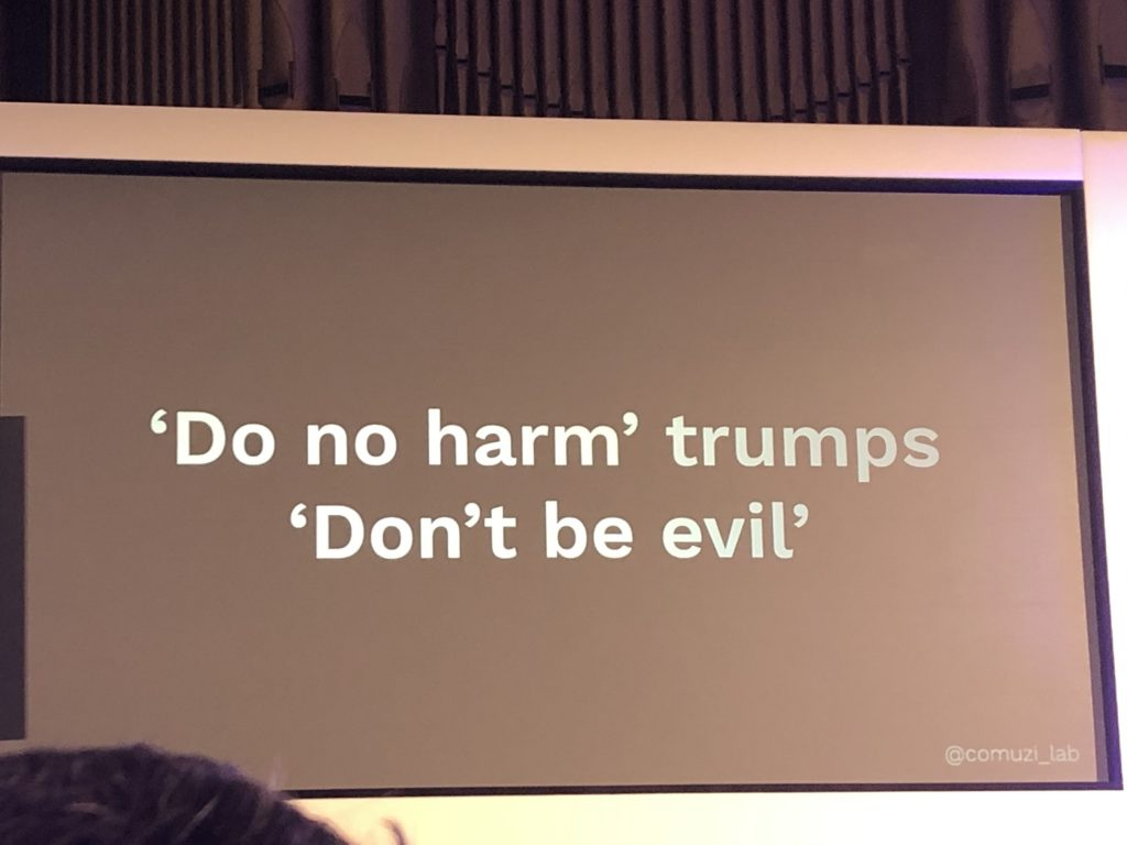 Do no harm trumps don't be evil